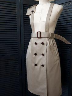 Юбка-тренч / TDarya / 27.05.2019 / Фотофорум на BurdaStyle.ru Coat, Skirts, Jackets, Outfits, Dresses, Sewing, Diy, Inspiration, Fashion