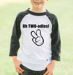 Oh Twodles Raglan Two Year Old Birthday Shirt Boys Boy Shirts Clothes
