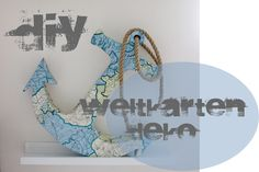 creativLIVE:+DIY+Weltkartendeko+(Dekopatch)