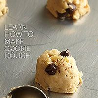 Make cookie dough for any occasion! http://www.bhg.com/recipes/desserts/cookies/how-to-make-cookie-dough/?socsrc=bhgpin072714cookiedough