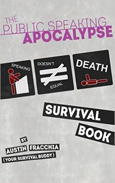 Do not let the fear of public #speaking get the best of you. Easy to follow guide to confronting your fears. Amazon.com: The Public Speaking Apocalype: Survival Book eBook: Austin Fracchia: Kindle Store