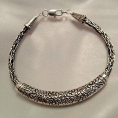 viking knit    Viking Knit chain unisex - mens bracelet or ladies anklet: non tarnish ...