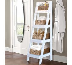 """Tanglewood 4 Tier Storage 53.5"""" Accent Shelves"""