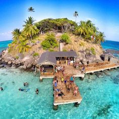 Crab Cay in San Andres and Providencia, Colombia. Colombia South America, South America Travel, Best Honeymoon, Honeymoon Destinations, Oh The Places You'll Go, Places To Travel, Wonderful Places, Beautiful Places, Travel Around The World