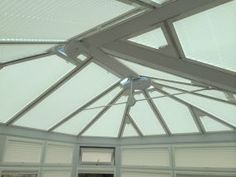 Leicester conservatory blinds to create some shade Conservatory Roof Blinds, Blinds For Windows, Leicester, Photo Galleries, Shades, Ceiling Lights, Lighting, Create, Gallery