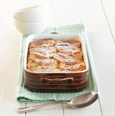 Banana and Chocolate Bread-and-Butter Pudding