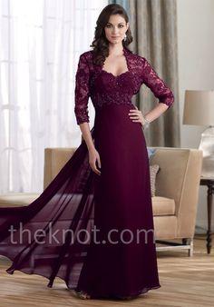 Plum Dresses Mother of the Bride Elegant