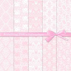 Etwas Rosa - Instant Download, digitale Papier, Scrapbook, Decoupage Papier, Hochzeit, Einladung, Lace Papier, digitale Muster