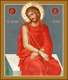 Image result for jesus in prison icon