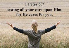 1Peter 5:7