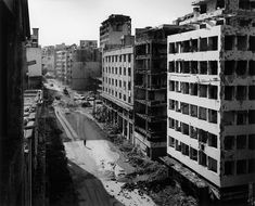 Beirut, Libano, 1991 di Gabriele Basilico