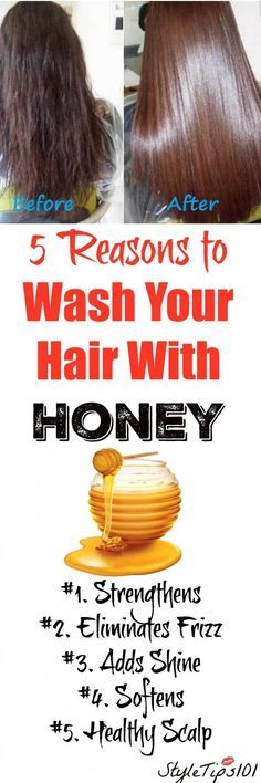 Wash Your Hair With Honey