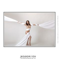 Fun with fabric! A beautiful #nude and a touch of photoshop to scretch out the #fabric. #boudoir #artnude