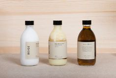Brand identity for Beige Hygiene Products by Spain based graphic designer: Josep Puy.