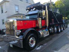 Peterbilt Dump Trucks, Peterbilt 379, Tow Truck, Lifted Trucks, Big Trucks, Logging Equipment, Heavy Construction Equipment, Snow Plow, Custom Trucks