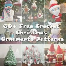 Image result for crochet christmas decorations free patterns