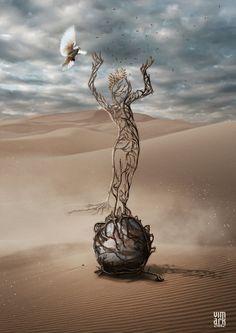 Desafio Criativo: Arte Digital de Max Mitenkov