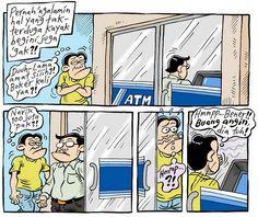 Mice Cartoon, #KomikJakarta - Oktober 2014: Hal Yang Tak Terduga Di ATM
