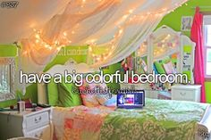 Have a bedroom like me. Extravagant, colorful and fabulous