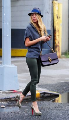 Blake Lively - whether she's rockin' the red carpet or embracing her street style, Blake always looks incredible!