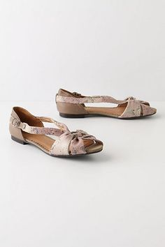 NWOB Anthropologie Miss Albright Reed Snake Flats 8 5 $118 Sold Out   eBay