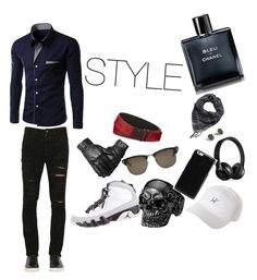 """""""STYLE"""" by beray-deniz-ibo ❤ liked on Polyvore featuring beauty, Giorgio Brato, NIKE, HUF, Beats by Dr. Dre, Maison Margiela, Tom Ford, MCM and Chanel"""