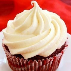 Red Velvet Stuffed Cheesecake Cupcakes: Duncan Hines Moist Red Velvet Cake stuffed with smooth Creamy Cheesecake Center.