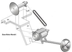 FURNITURE AUTOMATION: HOW TO MAKE A CIRCULAR SAW BENCH (PLANES, MATERIALS AND STEPS). Cierra Circular, Circular Saw, Wood Tools, Diy Tools, Woodworking Skills, Woodworking Tools, Sliding Table Saw, Mechanic Tools, Art Storage