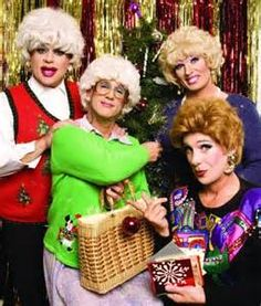 san franciscos four drag luminaries return in the golden girls the christmas episodes an event to both revel and gleefully anticipate as the way to ring - A Golden Christmas Cast