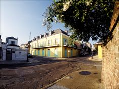 My Life in the Quarter: Yellows and Browns, Early Morning   New Orleans Sites and Sights