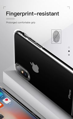 Baseus Protective Case For iPhone XS Hybrid Color Transparent Fingerprint Resistant Back Cover Pc Cases, Iphone Cases, Iphone Models, Pouch Bag, Protective Cases, Gadgets, Apple, Cover, Phone Accessories
