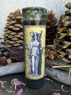 Rita's Hecate 7 Day Hoodoo Ritual Candle  by RitaSpiritualGoods