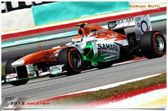 Adrian Sutil, Force India  - MALAYSIA
