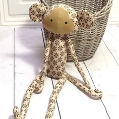Tilda monkey which you can hang in a number different ways.