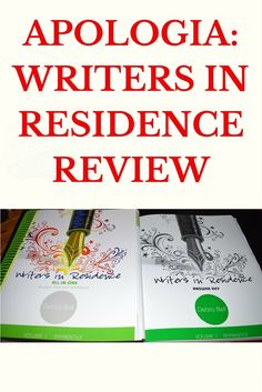 Apologia: Writers in Residence Review -http://www.tidbitsofexperience.com/wp-content/uploads/2016/04/Apologia-Writers-in-Residence-640x960.jpg http://www.tidbitsofexperience.com/apologia-writers-residence-review/