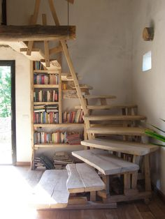Amazing stairs custom made especially for us! beautiful GoWild style!!! Wworks Scala interna STAIRS - Wworks