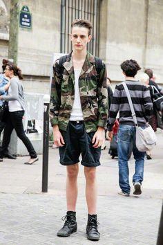 Streetfashion Paris Menswear SS13 Day 2. Nick Heymann