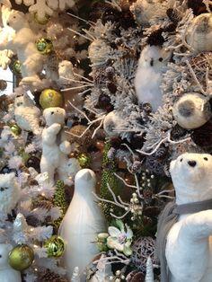 Woodland inspired christmas decor