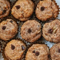 Banana #muffins have a high energy content and are ideal to take before or after exercise #stayfit #vegan