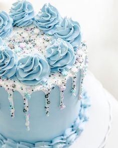 I find it amazing how has revolutionized the humble drip cake and helped start the fascinating trend of The Sprinkle - Kuchen streusel - Cake Design Pretty Cakes, Beautiful Cakes, Amazing Cakes, Cake Decorating Designs, Cake Decorating Techniques, Cake Decorating Amazing, Easy Cake Designs, Creative Cake Decorating, Decorating Ideas