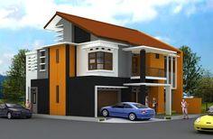 Atap Rumah Miring Modern