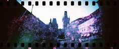 Lomography Sprocket Rocket + Lomochrome Purple, double exposure, by Radka