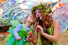 Who wouldn't want to be a fairie princess for Halloween? :)