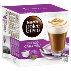 Image result for chocolate caramel dolce gusto pods