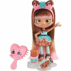 Shopkins Shoppies Dolls Cocolette Toys Kids Girls Play Hairbrush Purse Stand New Shoppies Dolls, Shopkins And Shoppies, Shopkins Season 7, Shopkins Girls, Accessoires Barbie, Vip Card, Baby Alive, Doll Stands, Costumes