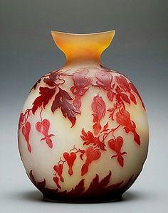 Galle plump vase