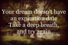 What dreams may come are yet to be seen.