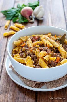 Un #primopiatto gustosissimo, con #ragù di #anatra semplice da realizzare. #ricetta #ragudicarne #pasta