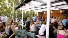 Sydney's bustling rooftop bars. Need to start venturing to a few.