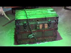 monster in a box halloween prop youtube